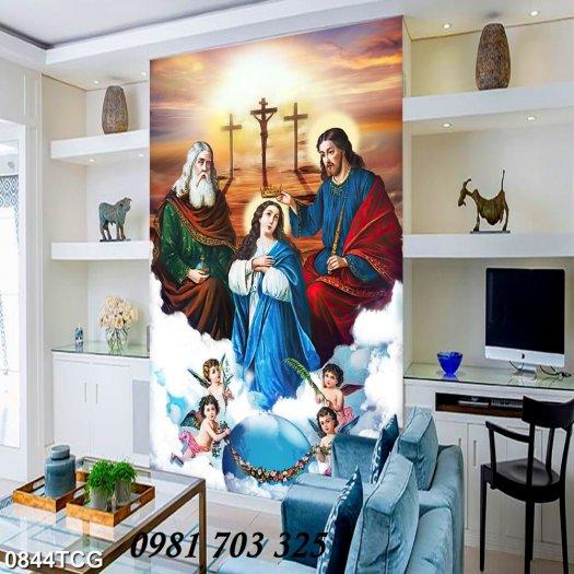 Tranh gạch công giáo, tranh ia đình thánh gia2