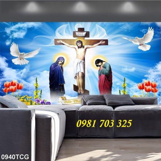 Tranh gạch công giáo, tranh ia đình thánh gia1