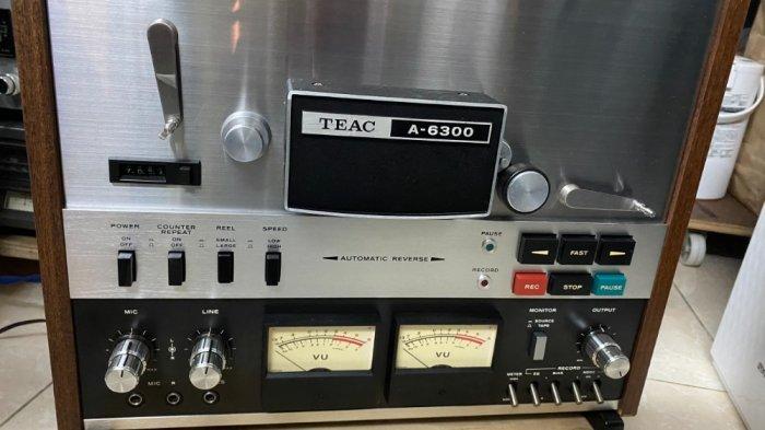 Đầu băng cối Teac A-6300 đẹp ( cái thứ 2 ) có hub zin đi kèm8