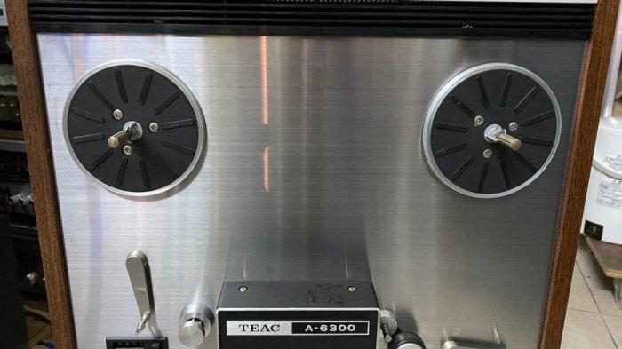 Đầu băng cối Teac A-6300 đẹp ( cái thứ 2 ) có hub zin đi kèm7
