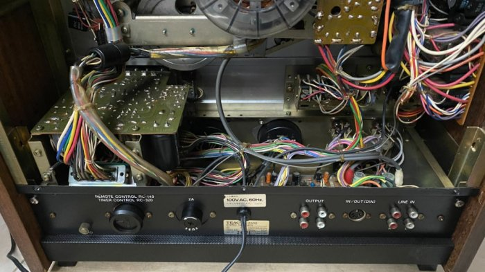 Đầu băng cối Teac A-6300 đẹp ( cái thứ 2 ) có hub zin đi kèm2