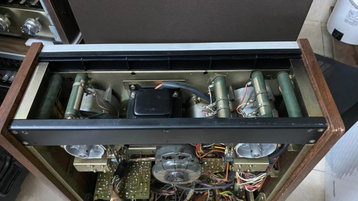 Đầu băng cối Teac A-6300 đẹp ( cái thứ 2 ) có hub zin đi kèm0