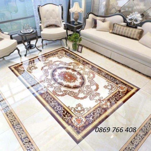Gạch sàn 3D-gạch thảm lát sàn phòng khách7