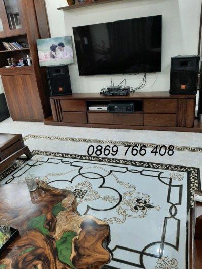 Gạch sàn 3D-gạch thảm lát sàn phòng khách2