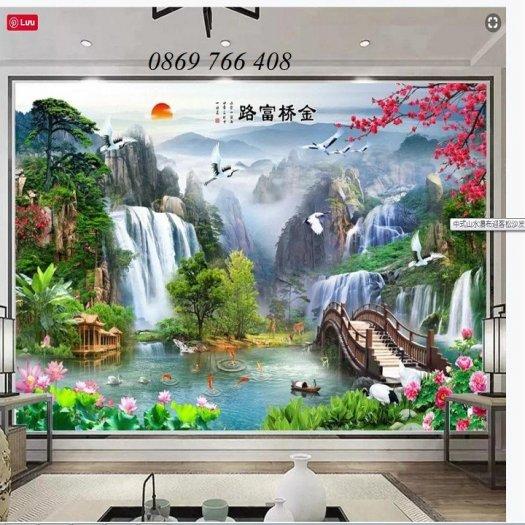Gạch tranh-tranh gạch phong cảnh 3D9
