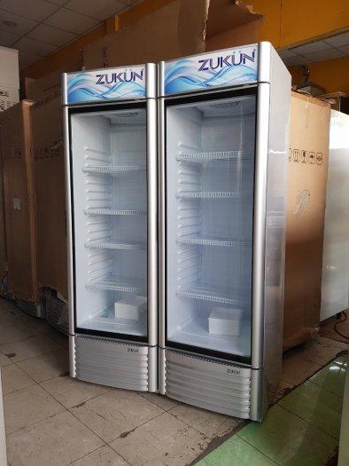 Tủ mát trưng bày một cửa Hiệu Zukun0