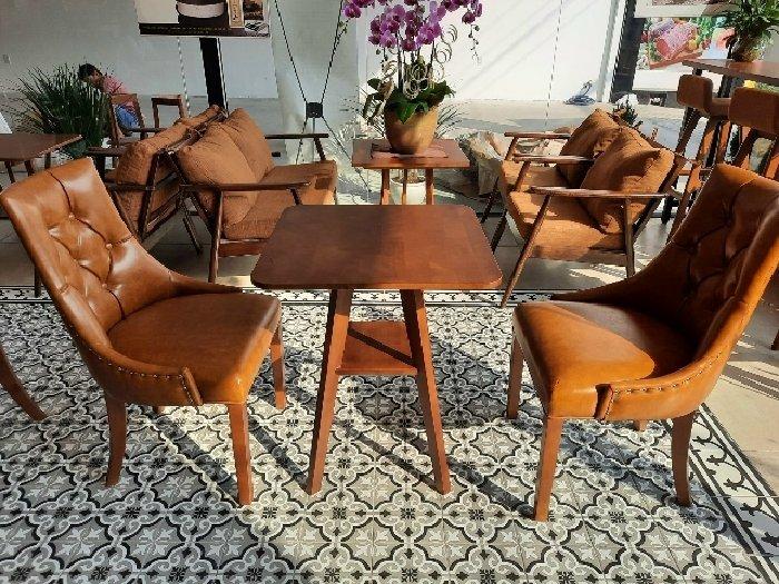 Bàn ghế cafe gỗ cao cấp giá sỉ tại xưởng0