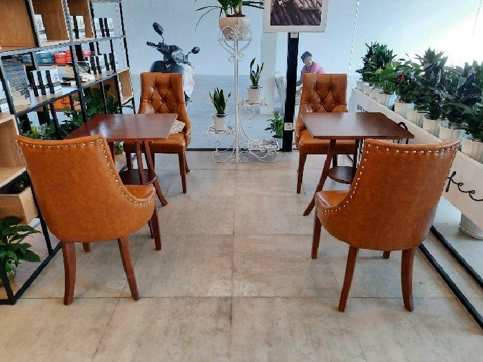 Bàn ghế cafe gỗ cao cấp giá sỉ tại xưởng1