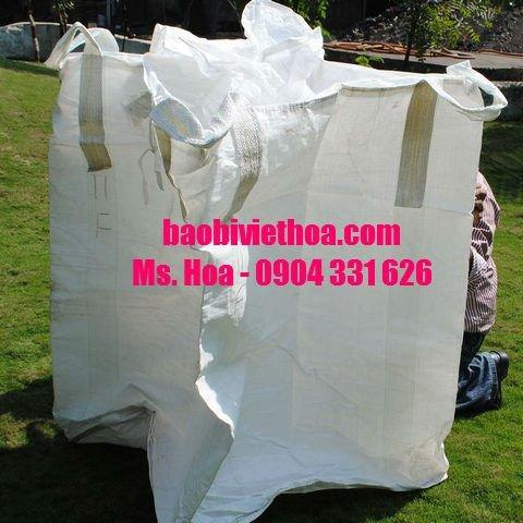 Bao 1000 kg, bao 1 tấn, bao đóng cát, lúa, gạo, khoán sản1