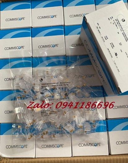 Chuyên phân phối hạt mạng RJ45 COMMSCOPE AMP Cat5/Cat6 chân đồng 100% có sẵn hàng2
