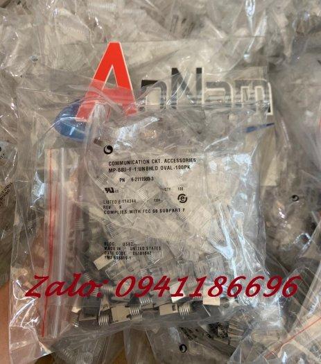 Chuyên phân phối hạt mạng RJ45 COMMSCOPE AMP Cat5/Cat6 chân đồng 100% có sẵn hàng0