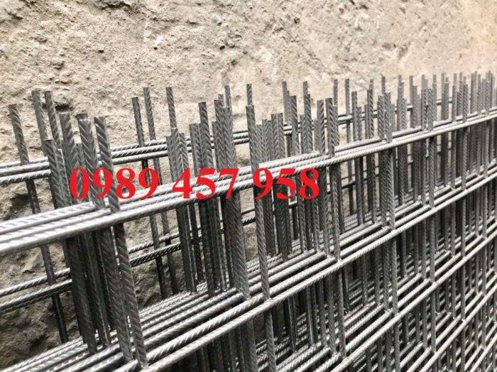 Sản xuất Lưới thép hàn phi 10 ô 200x200- lưới hàn chập phi 10 ô 200x2008