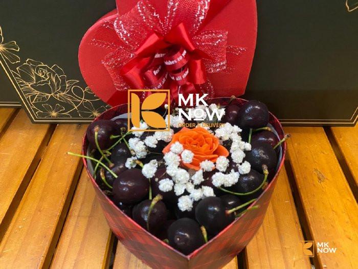 Hộp quà Valentine 14/2 Cherry trái tim - FSNK2100