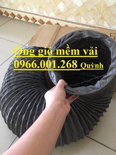 Ống gió mềm vải Tarpaulin Hàn Quốc , ống thông gió số 1 Việt Nam phi 100,phi 125,phi 150,phi 200,phi 3006