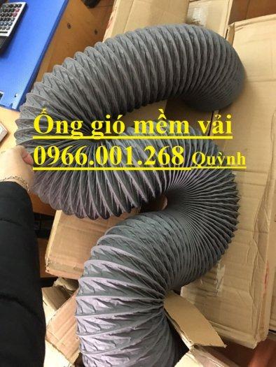 Ống gió mềm vải Tarpaulin Hàn Quốc , ống thông gió số 1 Việt Nam phi 100,phi 125,phi 150,phi 200,phi 3004