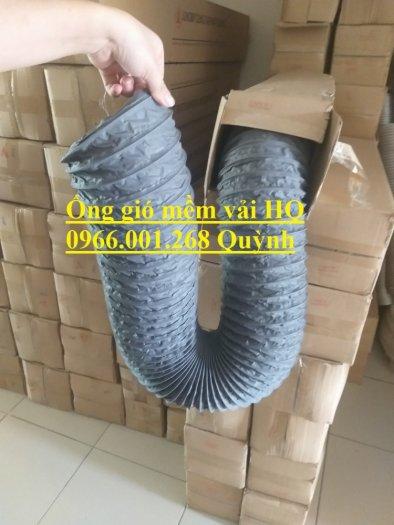 Ống gió mềm vải Tarpaulin Hàn Quốc , ống thông gió số 1 Việt Nam phi 100,phi 125,phi 150,phi 200,phi 3003