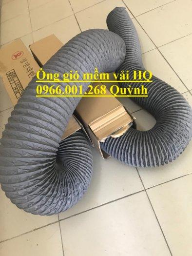 Ống gió mềm vải Tarpaulin Hàn Quốc , ống thông gió số 1 Việt Nam phi 100,phi 125,phi 150,phi 200,phi 3002