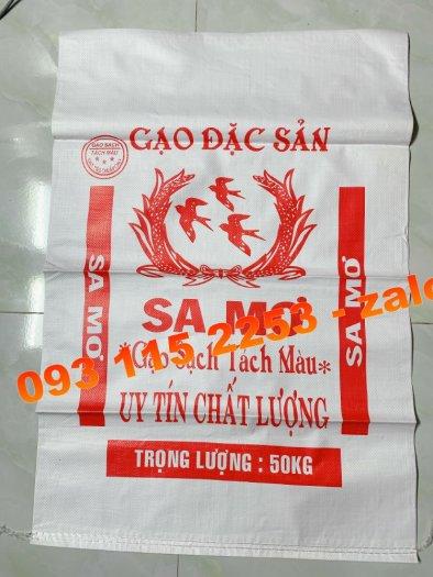 Bao đựng gạo, túi đựng gạo in flexo cho ngày tết2