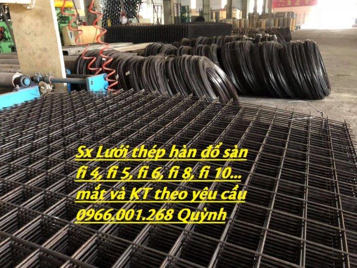 Lưới thép hàn , lưới thép hàn chập D3,D4,D5,D6 và các loại khác sản xuất theo yêu cầu10