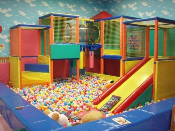 Nhận thi công lắp ráp khu vui chơi cho bé