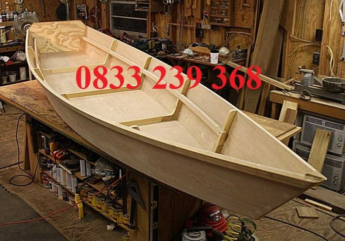 Thuyền trang trí hoa tết 2m, 3m, 4m, mua Xuồng gỗ trang trí 3m2