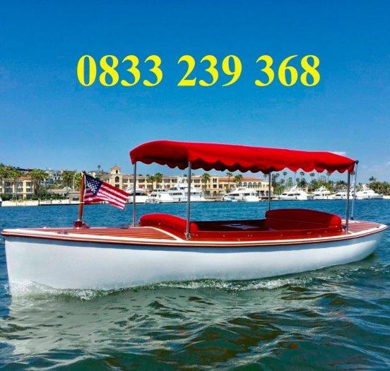 Thuyền khu du lịch nghỉ dưỡng, Thuyền ngắm cảnh cho 3-4 người4