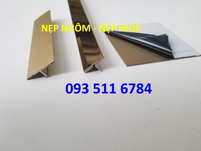 Nẹp V inox màu - Nẹp góc tường - Nẹp nhôm luồn dây điện - Nẹp sàn gỗ nhựa8