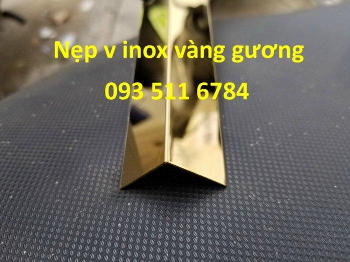 Nẹp V inox màu - Nẹp góc tường - Nẹp nhôm luồn dây điện - Nẹp sàn gỗ nhựa4