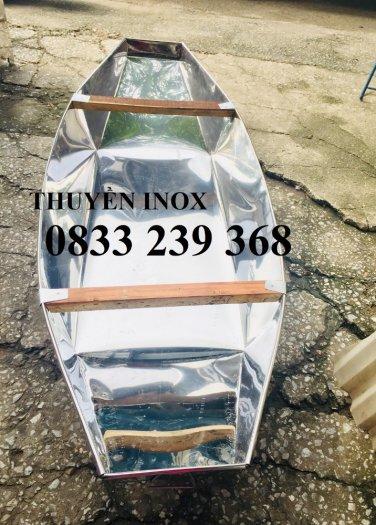 Chuyên thuyền tôn 3m, 2,5m, Thuyền inox có sẵn tại Hà Nội4