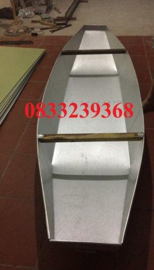 Chuyên thuyền tôn 3m, 2,5m, Thuyền inox có sẵn tại Hà Nội3
