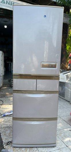 Tủ lạnh Hitachi 5 cánh 415 L, tiết kiệm điện, R600a, màu nâu, còn mới >90%13