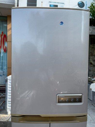 Tủ lạnh Hitachi 5 cánh 415 L, tiết kiệm điện, R600a, màu nâu, còn mới >90%12