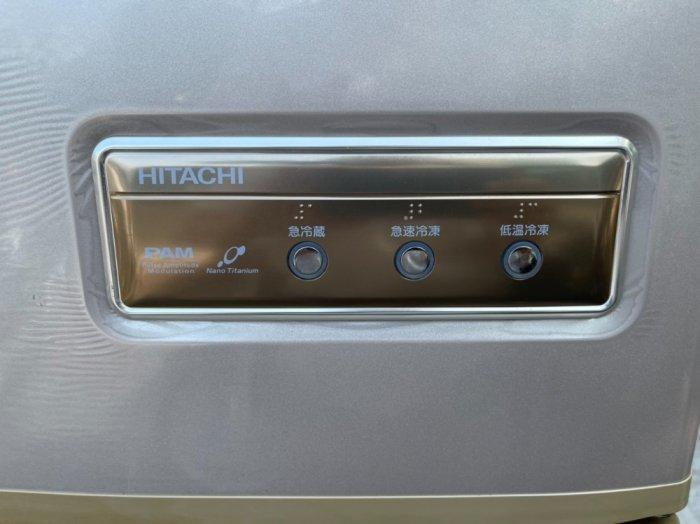Tủ lạnh Hitachi 5 cánh 415 L, tiết kiệm điện, R600a, màu nâu, còn mới >90%10
