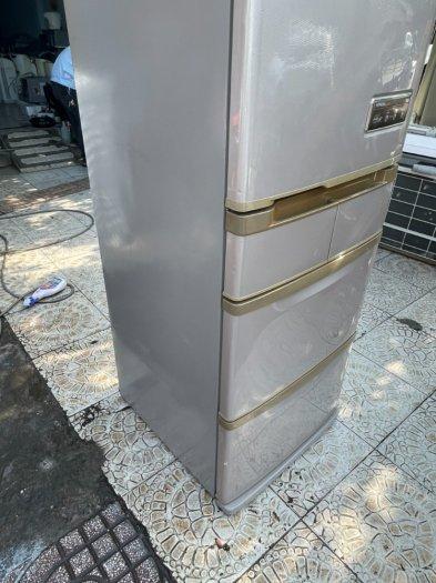 Tủ lạnh Hitachi 5 cánh 415 L, tiết kiệm điện, R600a, màu nâu, còn mới >90%8