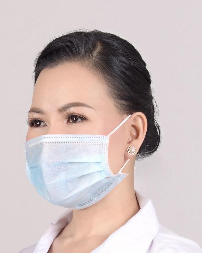 Khẩu trang Blue Saigon Face Mask  - combo 5 hộp 199k12