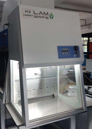 Tủ thao tác PCR có gió hoàn lưu qua lọc Hepa0