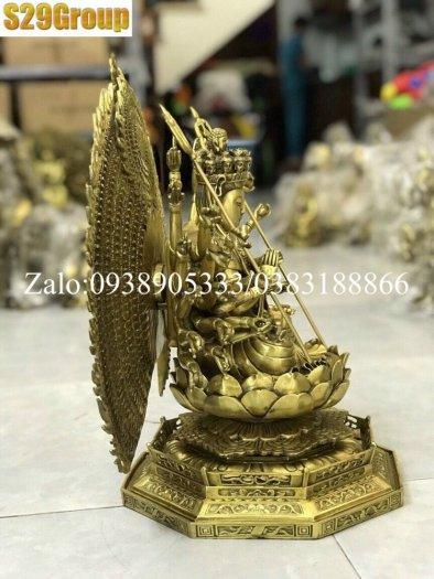 Thiên Thủ Thiên Nhãn bằng đồng cao 42cm0
