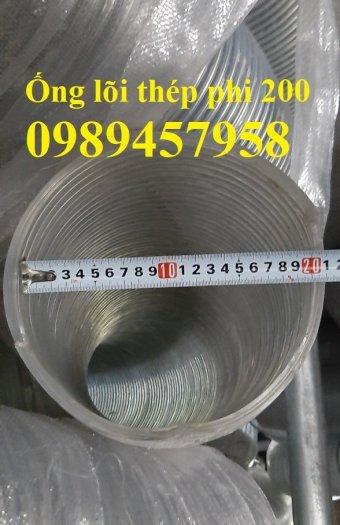 Ống nhựa hút nước lõi thép phi 200, Ống hút nước phi 100, phi 80, phi 60, phi 50 Ống Hàn Quốc1