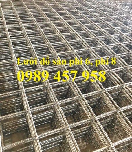 Thép hàn đổ bê tông phi 6, phi 8 ô 100x100, 150x150, 200x200, 250x25011