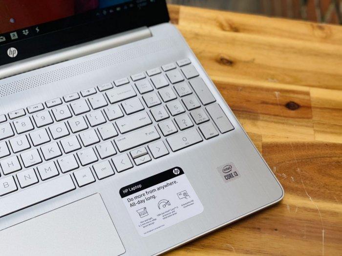 Laptop Hp 15 - DY1025NR / i3 1005G1/ 8G/ SSD256/ Viền Mỏng/ Cảm Ứng/ New/ Giá rẻ