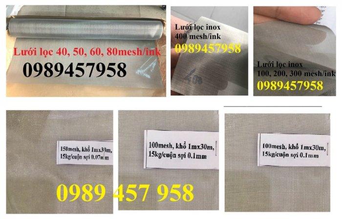 Lưới thép không gỉ Inox 304, Inox 316, lưới chống chuột, chống côn trùng, lưới chống mối0