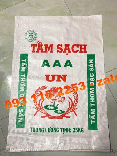 Bao đựng lúa gạo 5kg, 10kg, 25kg, 50kg mùa vụ Đông Xuân1