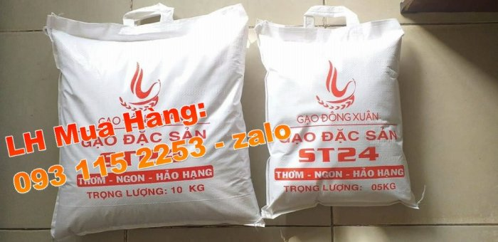 Bao đựng lúa gạo 5kg, 10kg, 25kg, 50kg mùa vụ Đông Xuân0