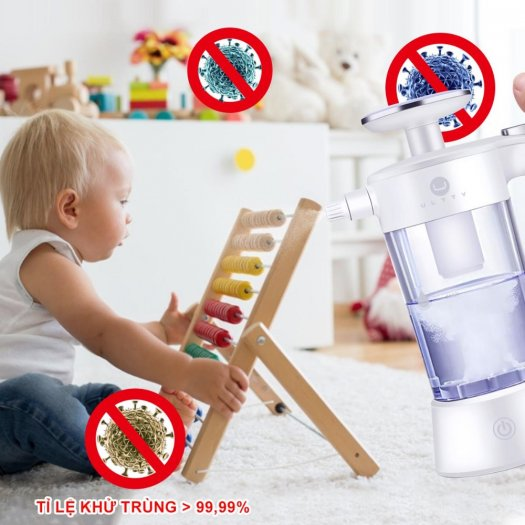 Bình điện phân phun sương diệt khuẩn Ultty SKJ-CRS01- Phòng chống0