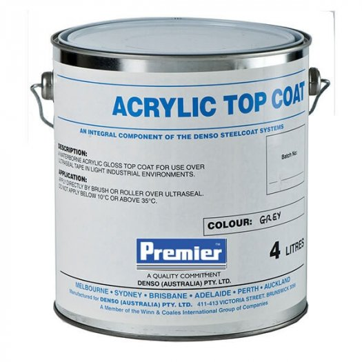 Hợp chất chống ăn mòn, chống tia UV Prembond Acrylic Topcoat1