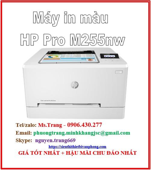 Máy in laser màu HP PRO M255nw giá rẻ nhất1