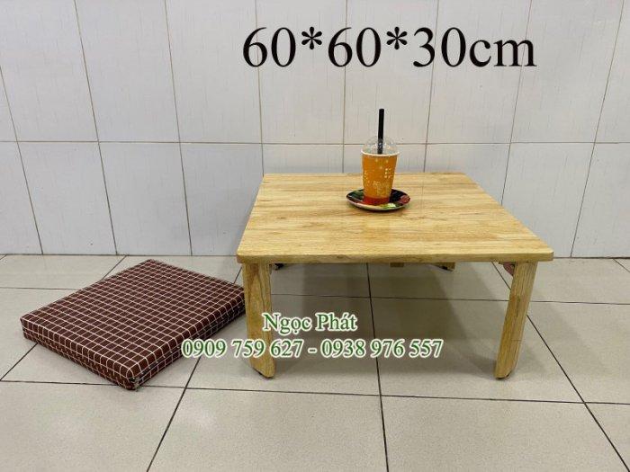 Bàn gỗ ngồi bệt trà sữa, cafe, quán ăn - NGỌC PHÁT6
