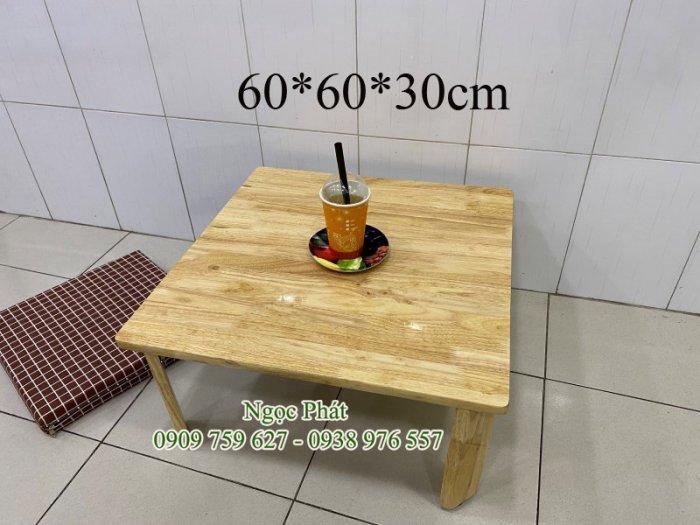 Bàn gỗ ngồi bệt trà sữa, cafe, quán ăn - NGỌC PHÁT5