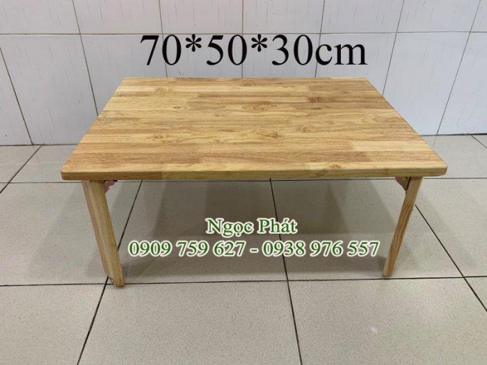 Bàn gỗ ngồi bệt trà sữa, cafe, quán ăn - NGỌC PHÁT2
