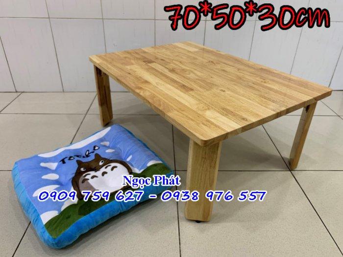 Bàn gỗ ngồi bệt trà sữa, cafe, quán ăn - NGỌC PHÁT0
